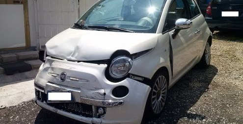 auto incidentate Bologna
